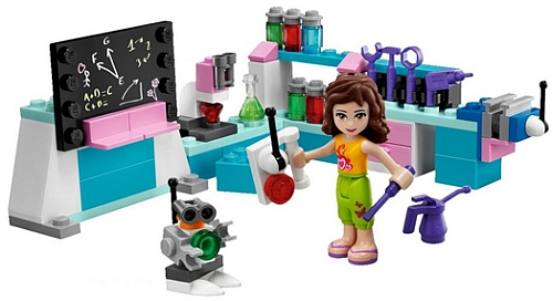 LEGO Friends Olivia's Workshop, copyright The Lego Group