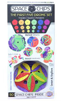"""Space Chips """"First Five Drons"""" Set"""