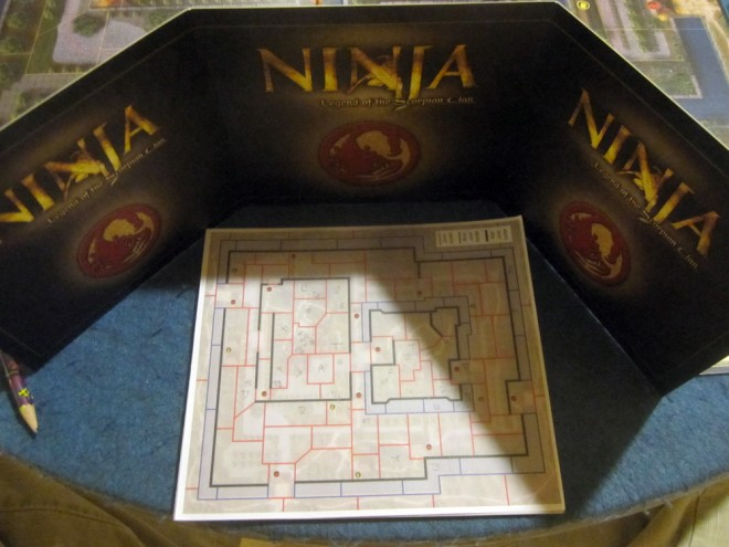 Tracking movement for the ninja and traitor.