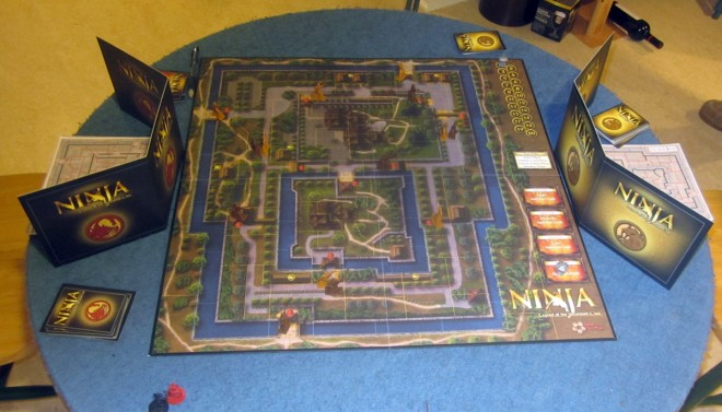 Board Game Review Ninja Legend Of The Scorpion Clan Geekdad
