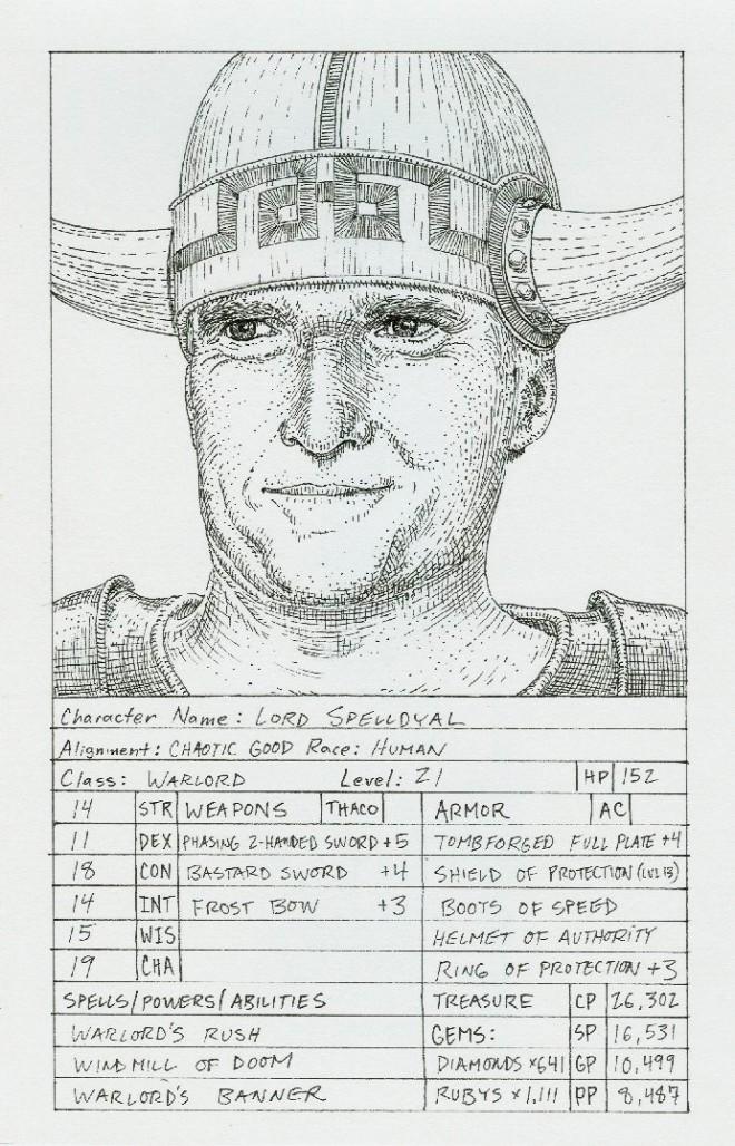 Mitt Romney as a D&D Character? NYC Show Celebrates Art