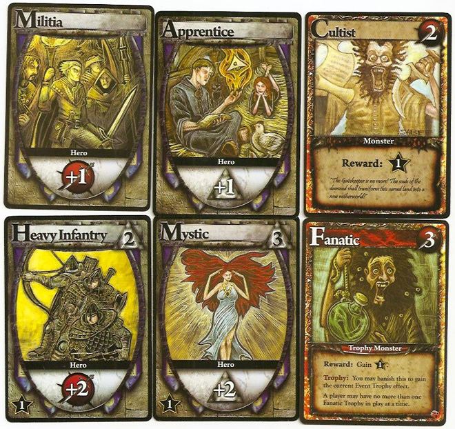 The starting cards and always-available cards get an update ... except for the Cultist.
