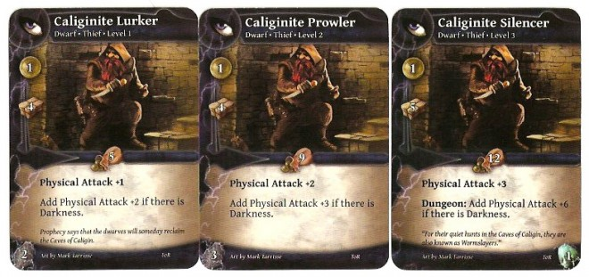 Thunderstone Advance Calignite Hero