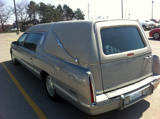 Living Dead version of a minivan.