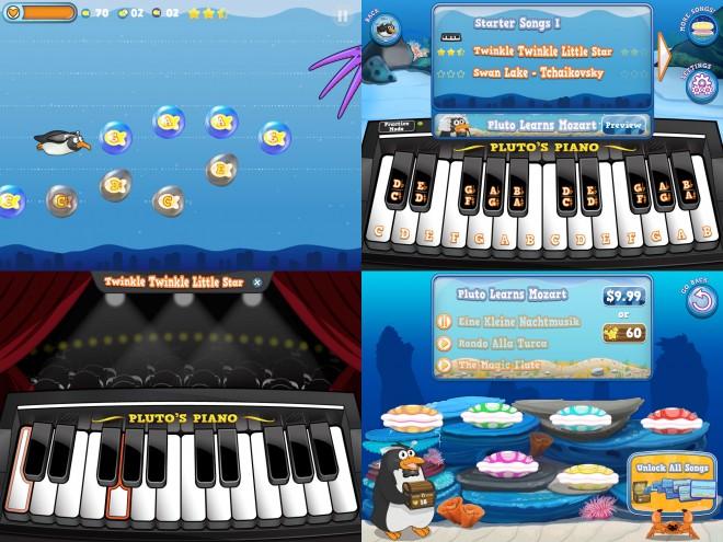 Pluto Learns Piano