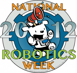 2012 National Robotics Week Logo