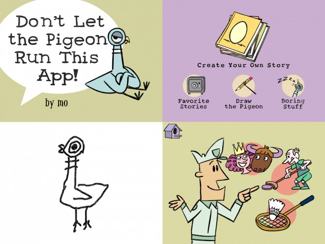 Don't Let the Pigeon Drive This App!