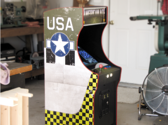 American Ace cabinet