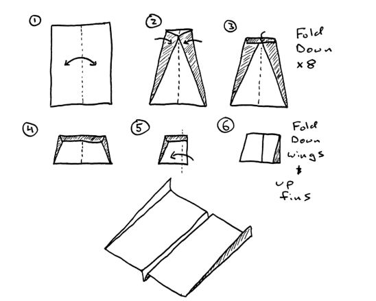how to make the world record paper airplane 2012