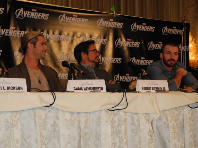 The Avengers stars