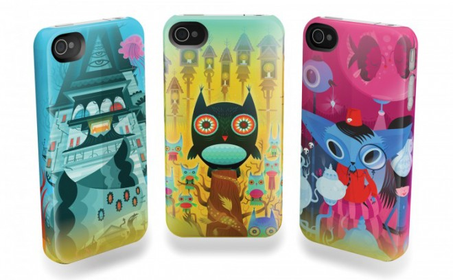 Scarygirl iPhone cases