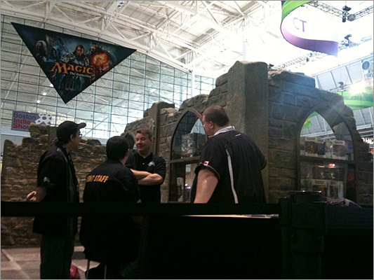 The D&D booth from last year's Pax.