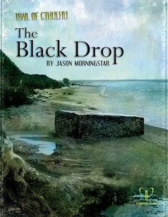 The Black Drop Cover