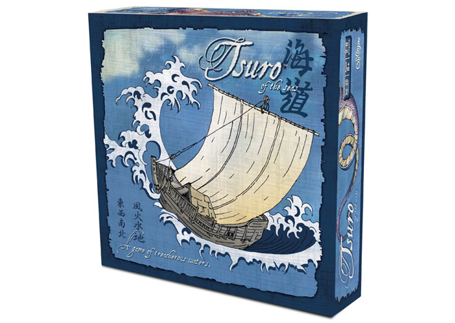 Tsuro of the Seas box