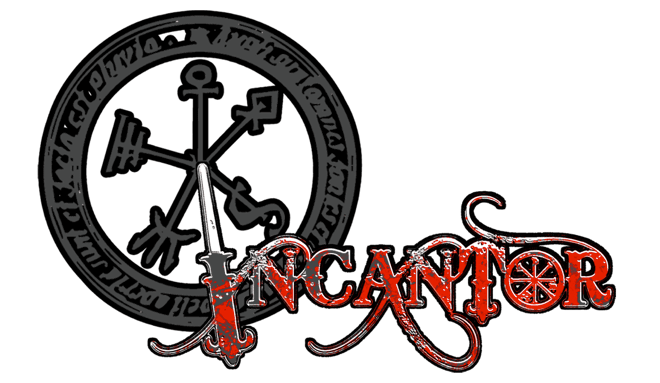 Incantor Magic Wand Augmented Reality Game Logo