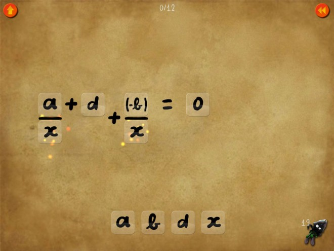 DragonBox equation