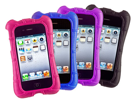 The M-Edge foam SuperShell for iPhone