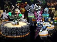 LightCore and Reposed Skylanders
