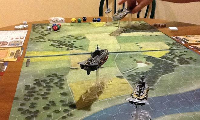 Leviathans game in progress