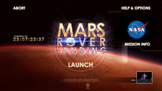 NASA Mars Rover Landing Xbox Screenshot