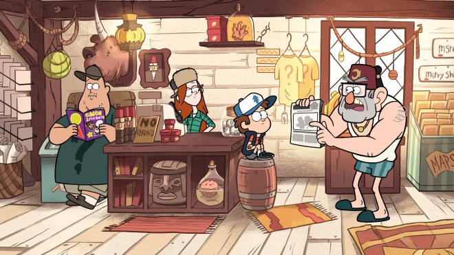 Screenshot Wallpaper Gravity Falls Why Gravity Falls Is The Smartest Cartoon On Television