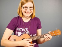 Angela Webber of The Doubleclicks