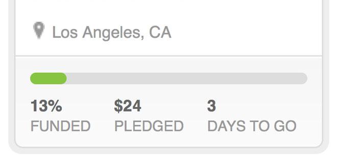 Kickstarter too late