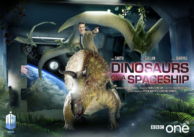 Dinosaurs on a Spaceship © BBC