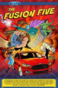 Ford's Fusion Five art
