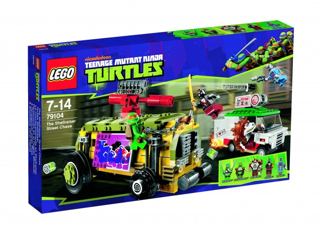 TMNT Shellraiser set
