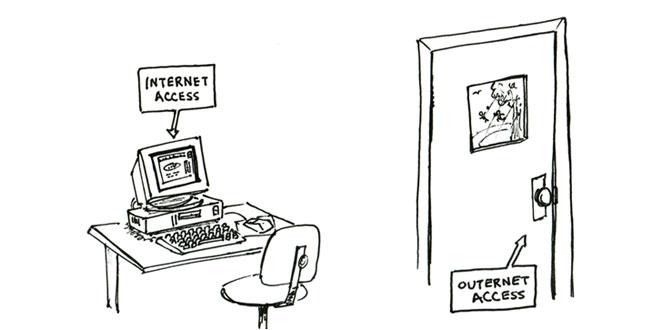 Internet vs. Outernet