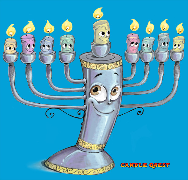 CandleQuest-menorah