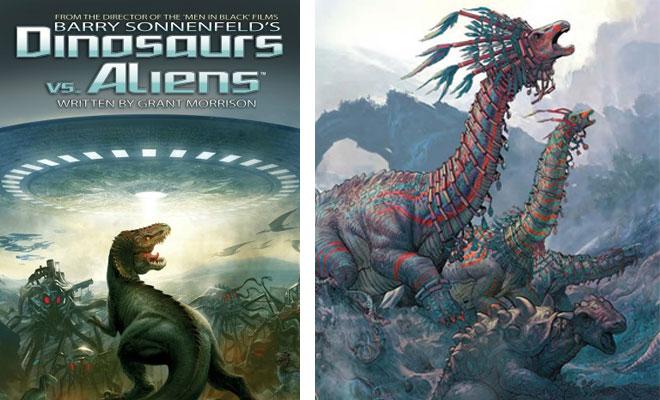 Dinosaurs vs. Aliens