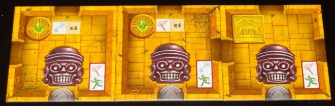 Escape: curses and treasures tiles