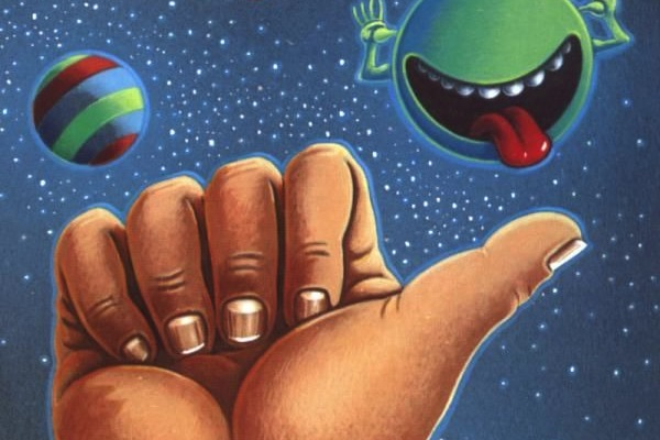 The Hitchhiker's Guide to the Galaxy is my favorite science-fiction novel. What's yours?