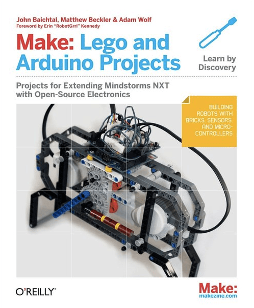 Make: Lego and Arduino Projects cover