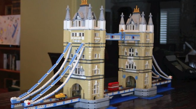 Watch This   GeekDad Builds the Lego Tower Bridge
