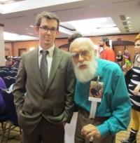 Loren Collins with James Randi