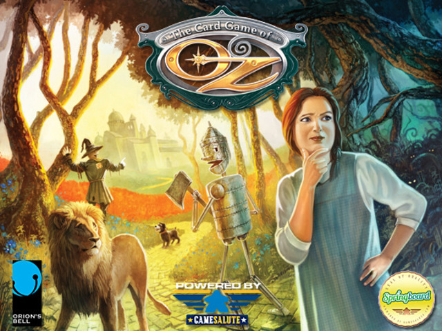 The Card Game of Oz cover