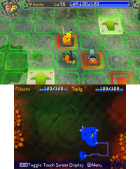 Pokemon Mystery Dungeon: Gates to Infinity screenshot
