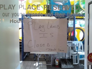 nasty play land germs, let your kids play at fast food playgrounds,