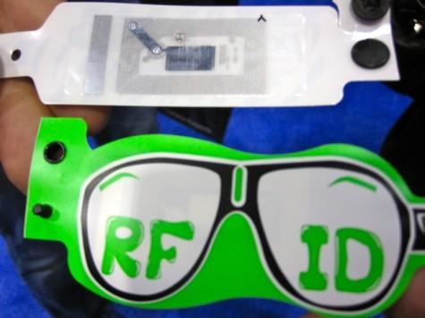 Accesso's RFID wristband