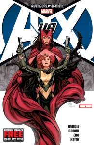 Avengers vs. X-men #0 Copyright Marvel