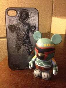 Han Solo in carbonite Photo By: Dakster
