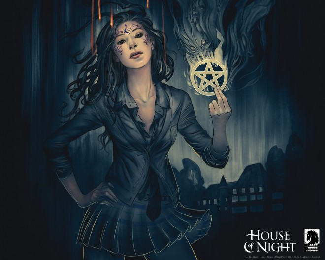 House of Night Image: Dark Horse Comics