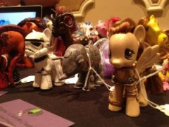 Custom Ponies by / Image: Dakster Sullivan
