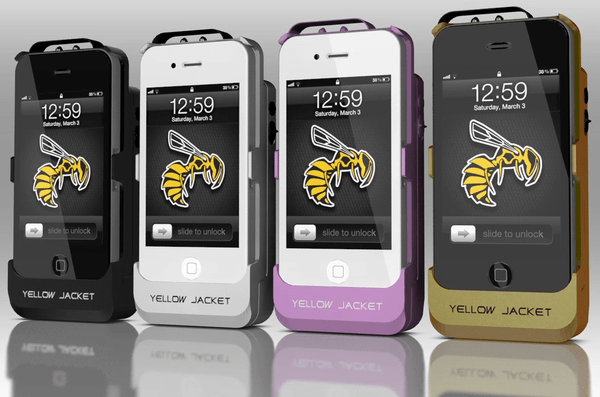 Yellow Jacket Stun Gun Case / Image: Indiegogo