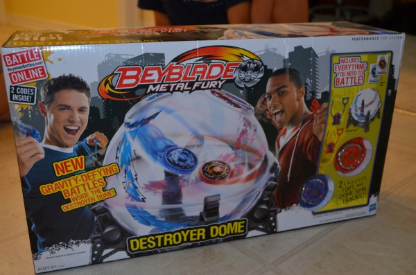 Product Beyblades Metal Fury Destroyer Dome Set Wired