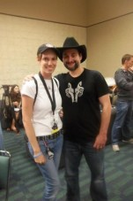 Me and Dave Filoni, Director of the Clone Wars the Animated Series  Image: April Izzo