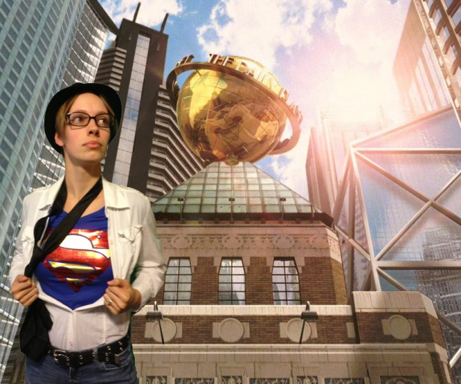 Clark Kent is a great inexpensive costume option for men, women and children!  Image: Dakster Sullivan